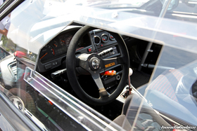 Interior of a Racing CRX EE8 at the EE-Meeting