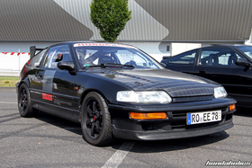 Track Ready black CRX EF8 at the EE-Meeting