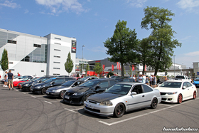Overview of the other Hondas at the EE-Meeting