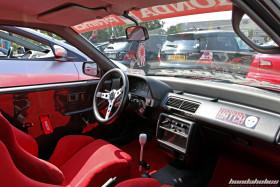 Interior of a Honda Civic ED6 at the EE-Meeting