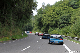 Convoy on the ride at the EE-Meeting