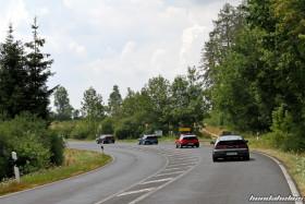 Four Honda CRX EF8 in the Eifel