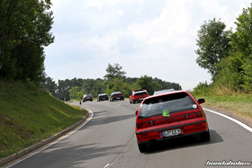 Honda Civic EF9 and CRX EF8 in the curves of the Eifel