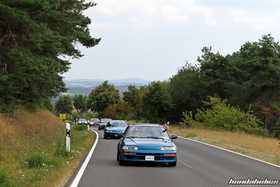 Two Celestial Blue CRF EF8 in the convoy ate the EE-Meeting