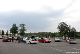 Rear View of various Hondas at the EE-Meeting