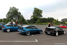 Side View of three CRX at the EE-Meeting
