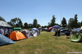 Tents at the Hondapower-Meet