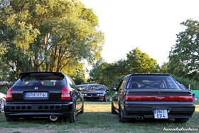 Rear view of Civic Hatchback EK4 and ED4 Limousine