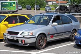 Silberner Honda Civic Aerodeck VTi MC2