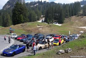 Alle Fahrzeuge der Honda-Ausfahrt